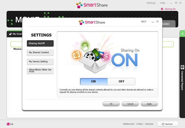 lg smart share  windows